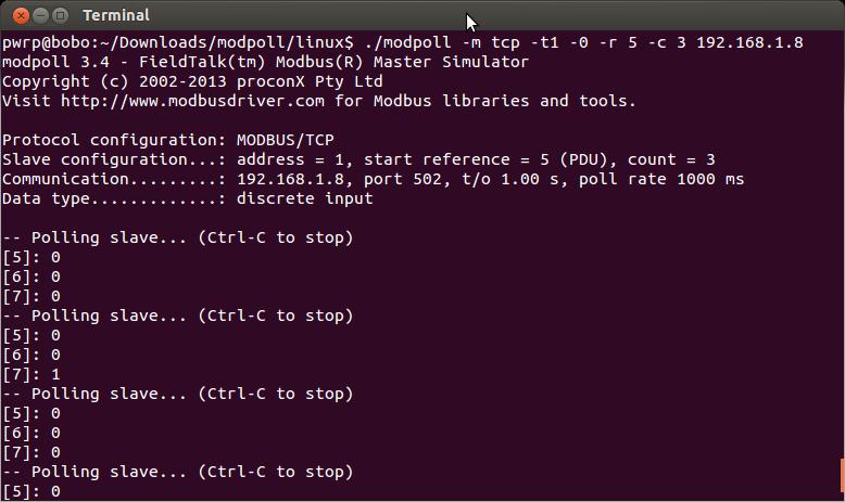 Proview Forum :: Topic: Modbus tcp with arduino (4/7)